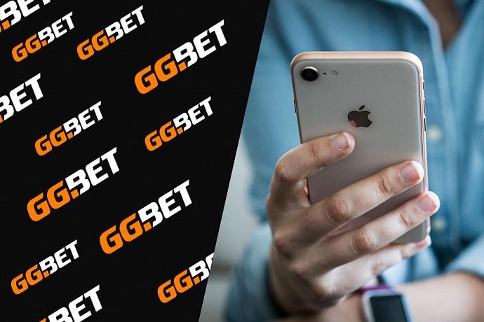 Мобильное приложение GGbet на iPhone