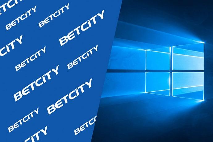 Бетсити приложение windows