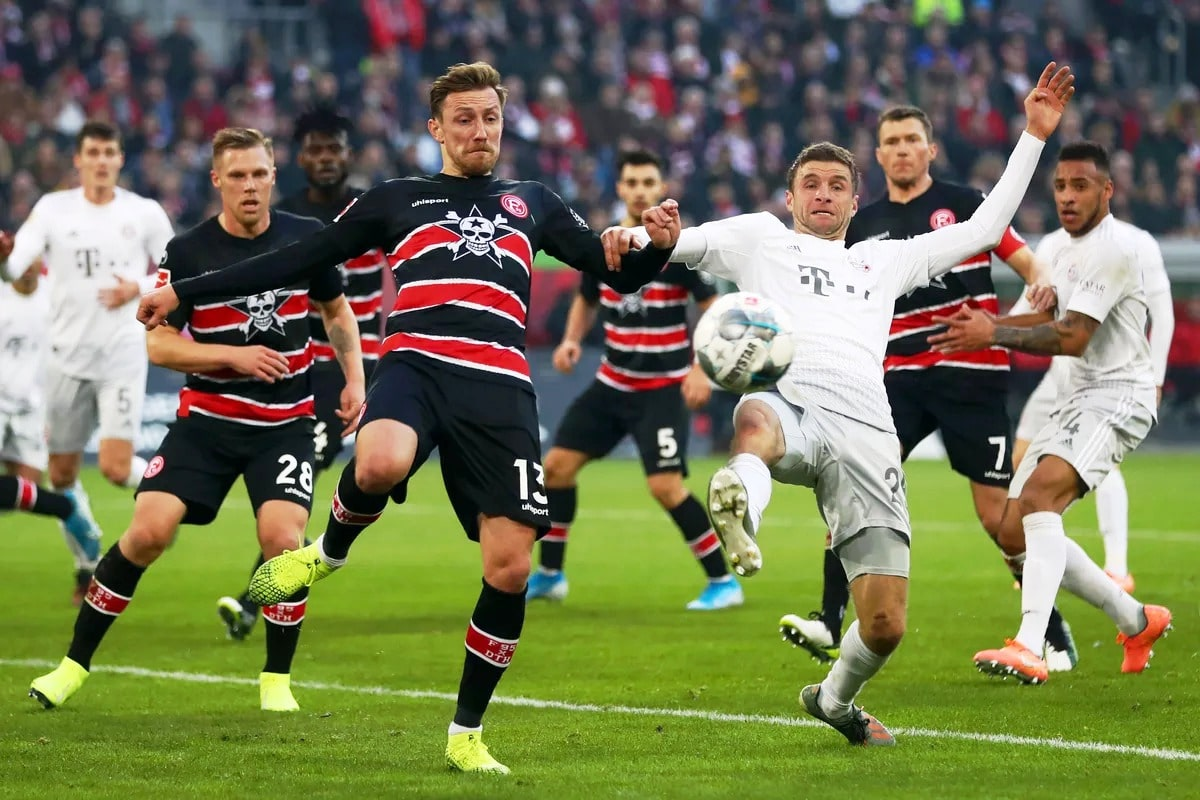 Бавария — Фортуна Дюссельдорф: прогноз и ставка на матч.