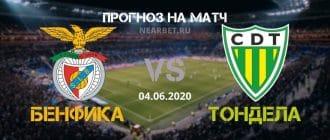 Бенфика — Тондела: прогноз и ставка на матч