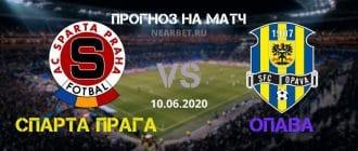 Спарта Прага – Опава: прогноз и ставка на матч