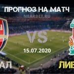 Арсенал — Ливерпуль: прогноз и ставка на матч