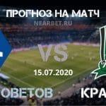 Крылья Советов — Краснодар: прогноз и ставка на матч