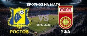 Ростов — Уфа: прогноз и ставка на матч