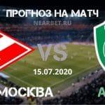 Спартак Москва — Ахмат: прогноз и ставка на матч