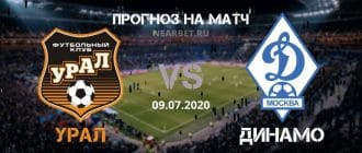 Урал — Динамо Москва: прогноз и ставка на матч