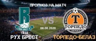 Рух Брест — Торпедо-БелАЗ: прогноз и ставка на матч