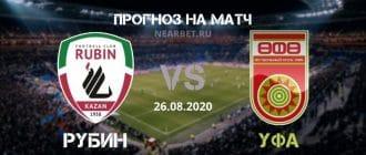Рубин – Уфа: прогноз и ставка на матч