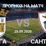 Брага – Санта Клара: прогноз и ставка на матч