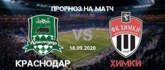 Краснодар – Химки: прогноз и ставка на матч