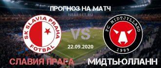 Славия Прага – Мидтьюлланн: прогноз и ставка на матч