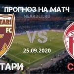 Волунтари – Сепси: прогноз и ставка на матч