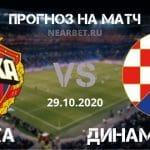 ЦСКА – Динамо Загреб: прогноз и ставка на матч