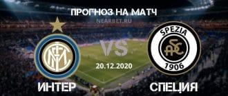 Интер – Специя: прогноз и ставка на матч