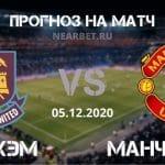 Вест Хэм – Манчестер Юнайтед: прогноз и ставка на матч