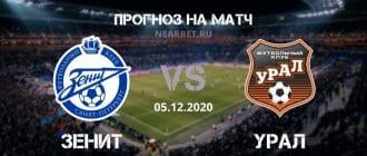 Зенит – Урал: прогноз и ставка на матч