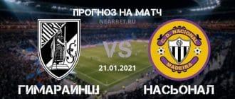 Гимарайнш – Насьонал: прогноз и ставка на матч