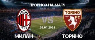 Милан – Торино: прогноз и ставка на матч