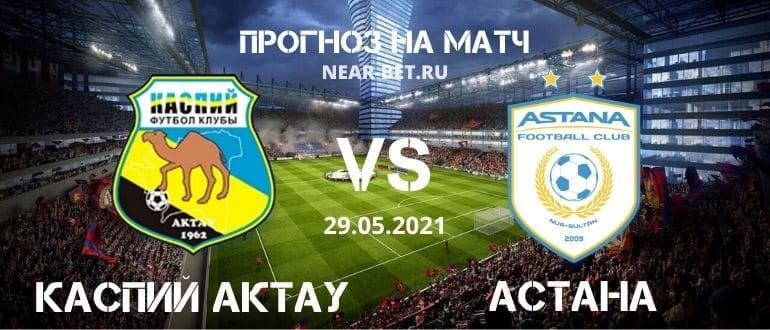 Каспий Актау – Астана: прогноз и ставка на матч