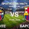 Леванте – Барселона: прогноз и ставка на матч