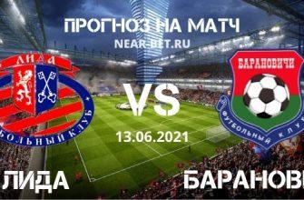 Лида – Барановичи: прогноз и ставка на матч