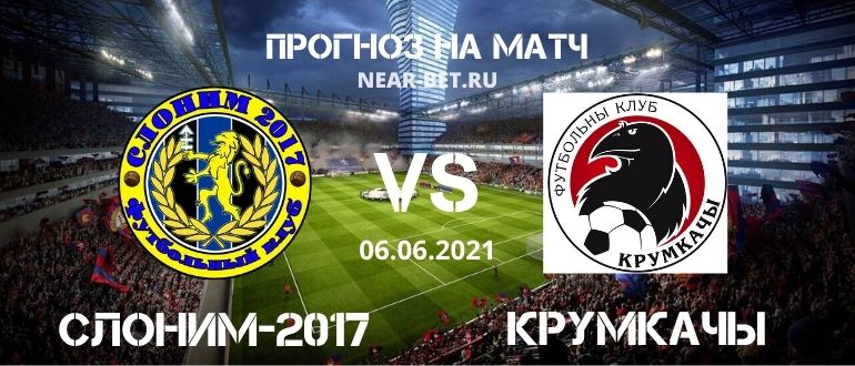 Слоним-2017 – Крумкачы: прогноз и ставка на матч